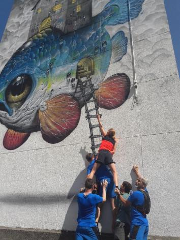 Toujours plus haut avec le Street Art Run !
